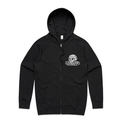 SB Skull Zip Hoodie (Black)