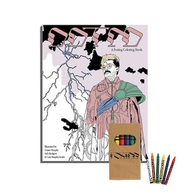 Foxing Draw Down The Moon Colouring Book