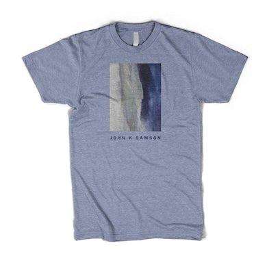 John K. Samson Winter Wheat Cover T-shirt (Heather Blue)