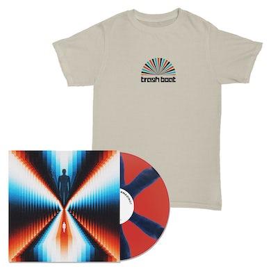 Trash Boat Don't You Feel Amazing LP (Blue & Red Pinwheel) + Tee