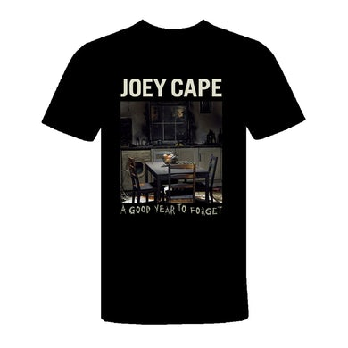 Joey Cape A Good Year to Forget T-Shirt (Black)