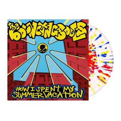 The Bouncing Souls How I Spent My Summer Vacation (Clear w/ Red/Yellow/Blue Splatter) LP (Vinyl)