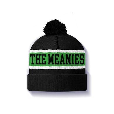 The Meanies Pom Pom Beanie (Green, White & Black)