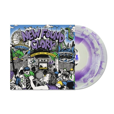 New Found Glory Forever And Ever x Infinity...And Beyond!!! 2LP (White With Purple Swirl) (Vinyl)