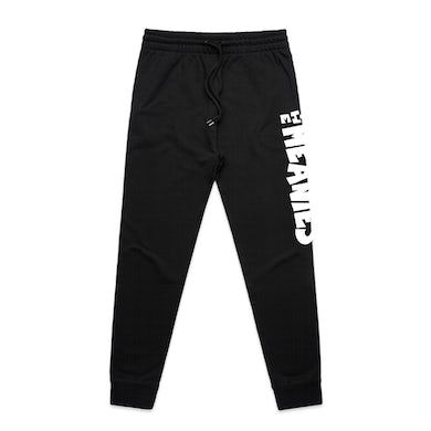 The Meanies Logo Track Pants (Black)