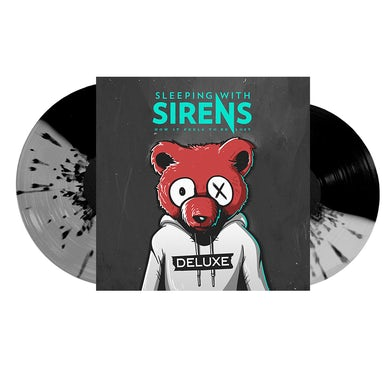 Sleeping With Sirens How It Feels To Be Lost 2LP (Deluxe) (Half Ultra Clear/Half Black with Black Splatter) (Vinyl)