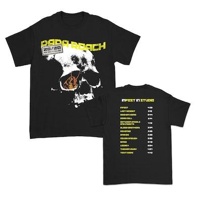 Papa Roach Infest In Studio Tshirt (Black)
