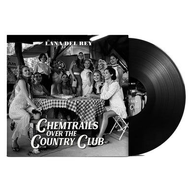 Lana Del Rey Chemtrails Over The Country Club LP (Black) (Vinyl)