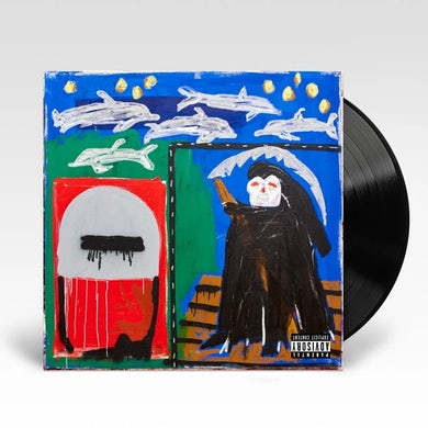Action Bronson Only For Dolphins LP (Black) (Vinyl)