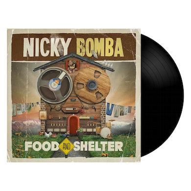 Nicky Bomba Food And Shelter LP (Black) + Download (Vinyl)