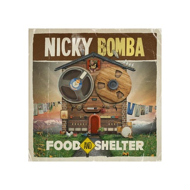 Nicky Bomba Food And Shelter Download + Book