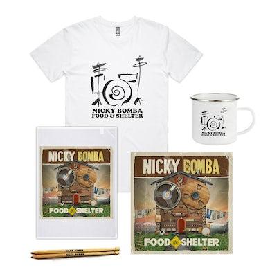 Nicky Bomba Food And Shelter Download Mega Bundle