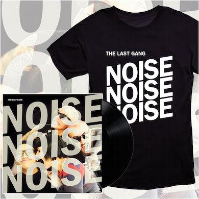 The Last Gang Noise Noise Noise LP (Colour) + T-Shirt