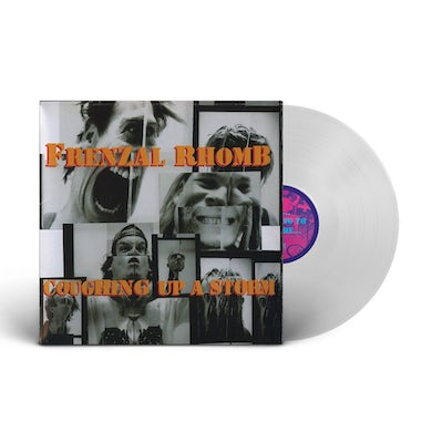 Coughing Up A Storm LP (White Vinyl)