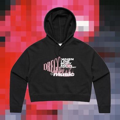 Bury Me Cropped Hoodie (Black)