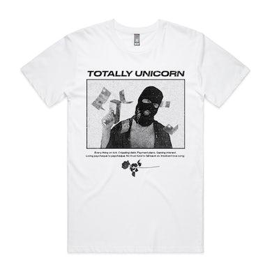 totally unicorn Money Gun T-Shirt (White)