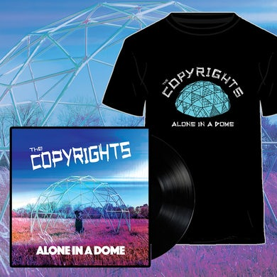 Alone in a Dome LP (Colour) + T-Shirt