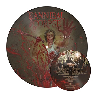 Cannibal Corpse Red Before Black LP (Picture Disc Vinyl)