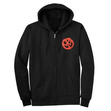 Pennywise OG Red Logo Zip Hoodie (Black)