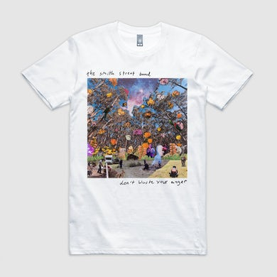 Don't Waste Your Anger Cover Tee (White)