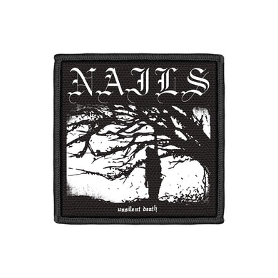 Unsilent Death Embroidered Patch