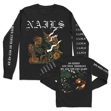 You Will Never Be One Of Us Long Sleeve (Black)
