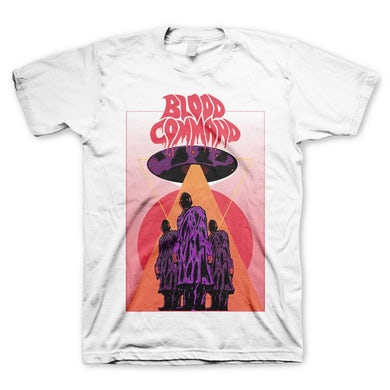 Blood Command Heavens Gate T-Shirt (White)