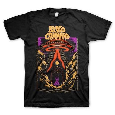 Blood Command UFO T-Shirt (Black)