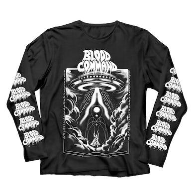 Blood Command UFO Longsleeve (Black/White)