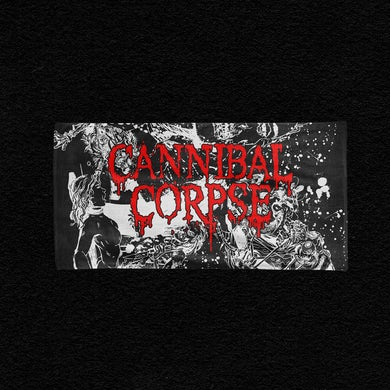 Cannibal Corpse Violence Unimagined Collage Beach Towel