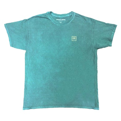 Embroidered Logo Tee (Heather Green)