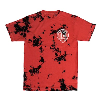 Extended Family 10 Year Tee (Red Tie Dye)