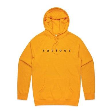 Saviour Embroidered Logo Hoodie (Yellow)