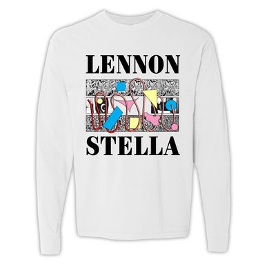 Lennon Stella LS Abstract Long Sleeve Tee + three two one Preorder