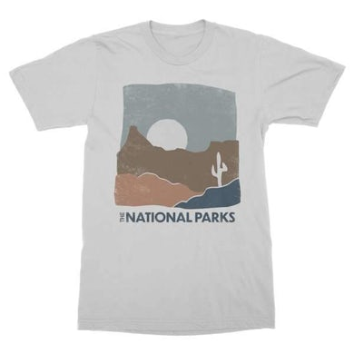 The National Parks | Desert T-Shirt - Grey Heather