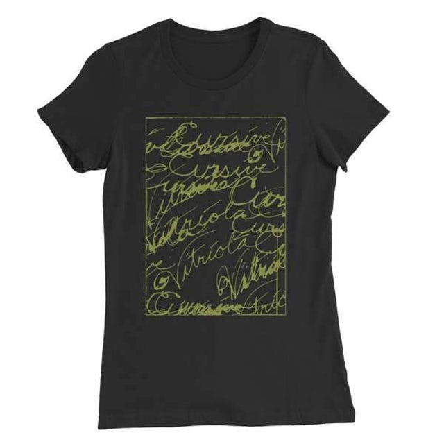 Cursive | Women's Scribble T-Shirt