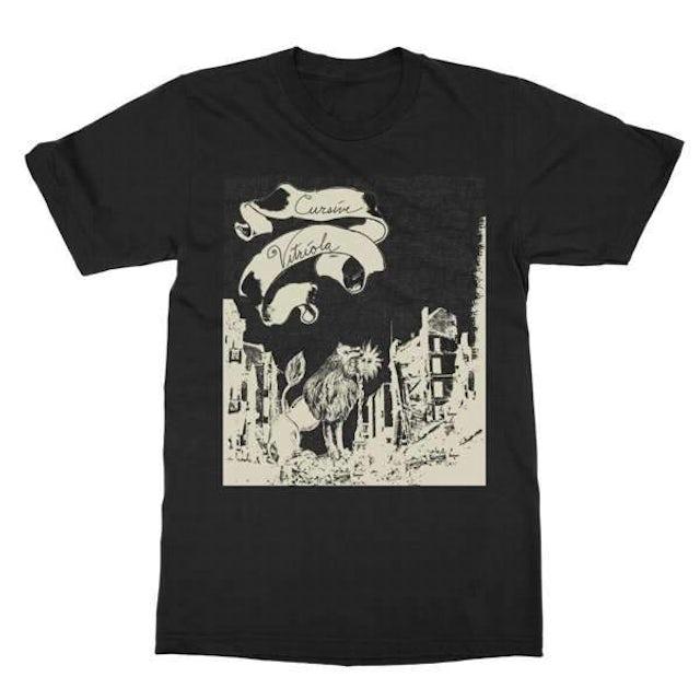 Cursive   Vitriola T-Shirt