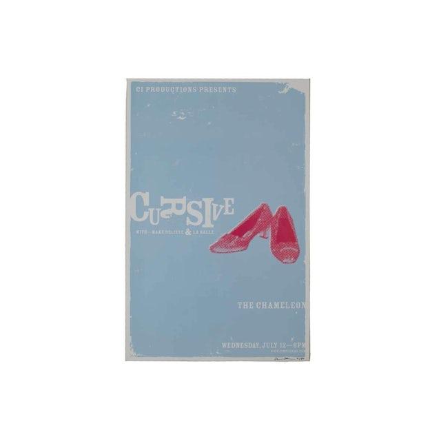 Cursive | Deadstock Make Believe & La Salle Poster