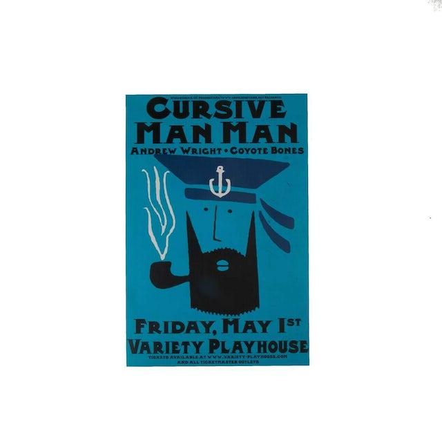 Cursive | Deadstock Man Man Poster