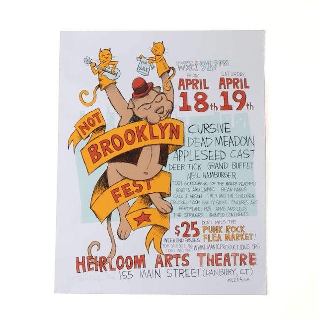 Cursive | Deadstock Not Brooklyn Fest Poster