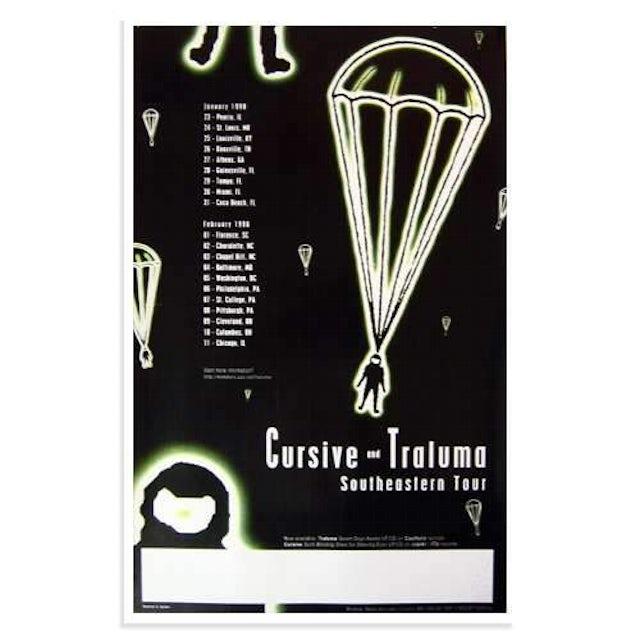 Cursive | Deadstock Southeastern Tour 1998 Poster