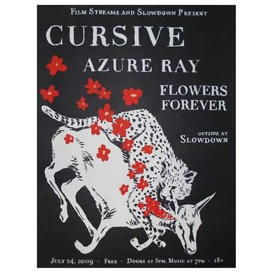 Cursive | Deadstock Slowdown 2009 Poster