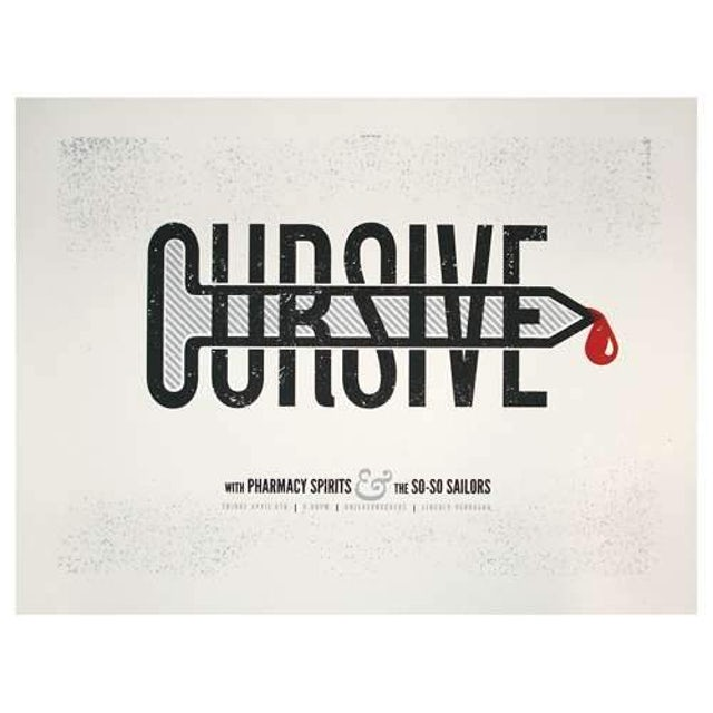 Cursive | Deadstock Knickerbockers Poster