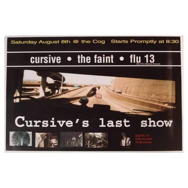 Cursive | Deadstock Cog Factory 8/8 Poster