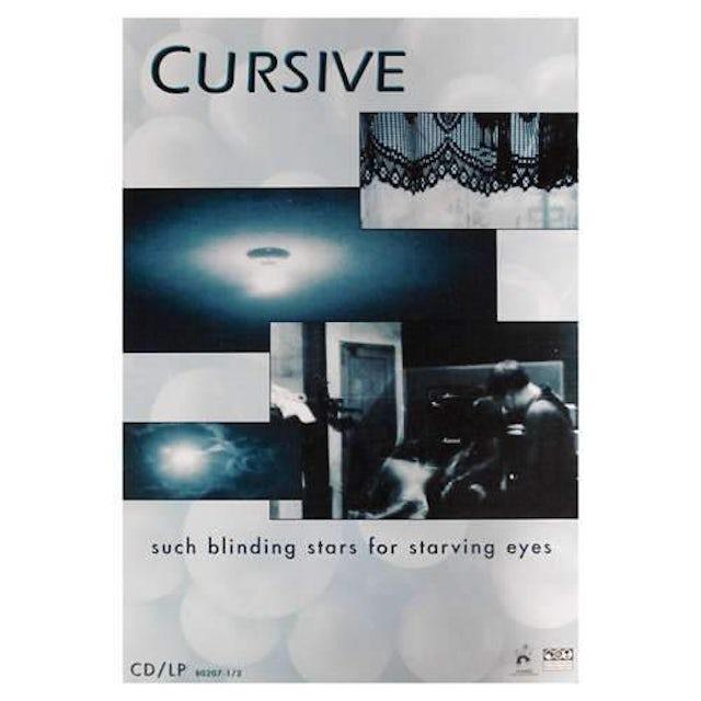 Cursive | Deadstock Such Blinding Stars For Starving Eyes Promo 1997 Poster