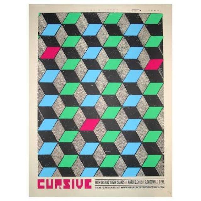 Cursive   Deadstock Slowdown 3/3/12 Poster