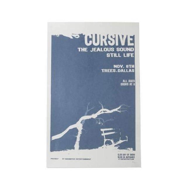 Cursive | Deadstock Trees Dallas 11/8 Poster