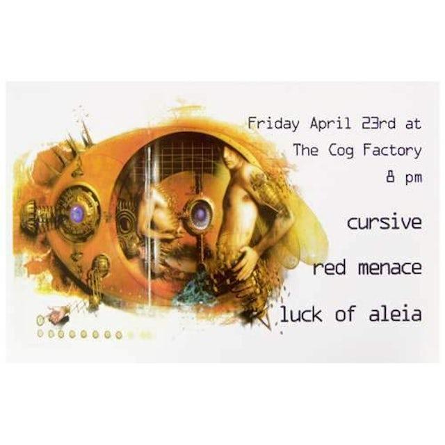 Cursive | Deadstock Cog Factory 4/23 Poster
