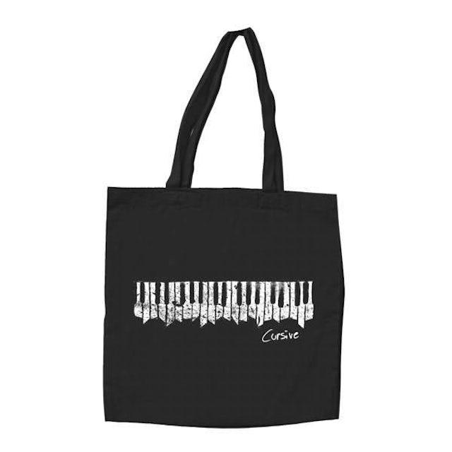 Cursive   Organ Tote Bag