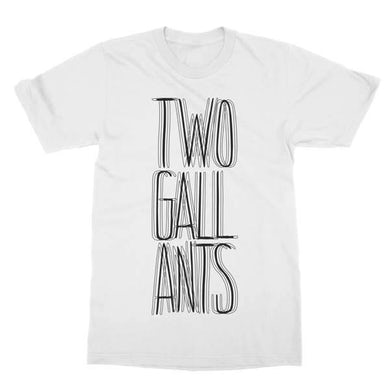 Two Gallants | Blurry Text T-Shirt